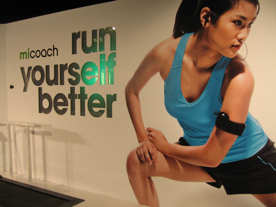 Adidas Unveils miCoach at CES