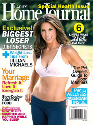 Jillian Michaels on the Cover of Ladies Home Journal