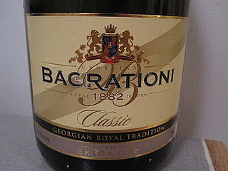 Review of Bagrationi Sparkling Wine