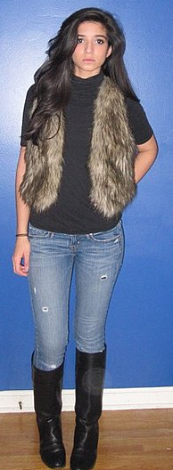 Look of the Day: Furry Fab