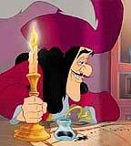 What was Captain Hook's name before he needed the hook?