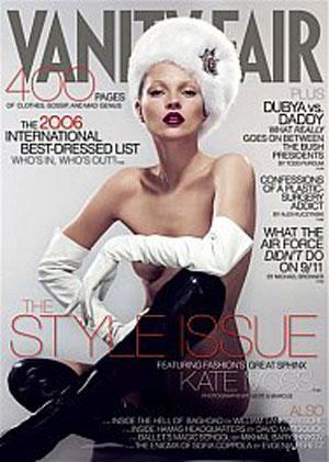 Kate Moss - VF Best Dressed