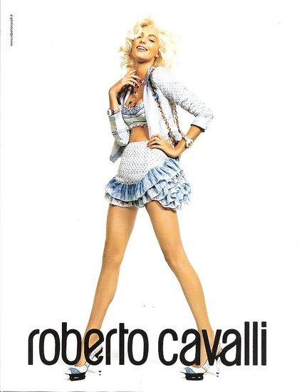 Daria Werbowy Checks Out for Roberto Cavalli Spring 2009