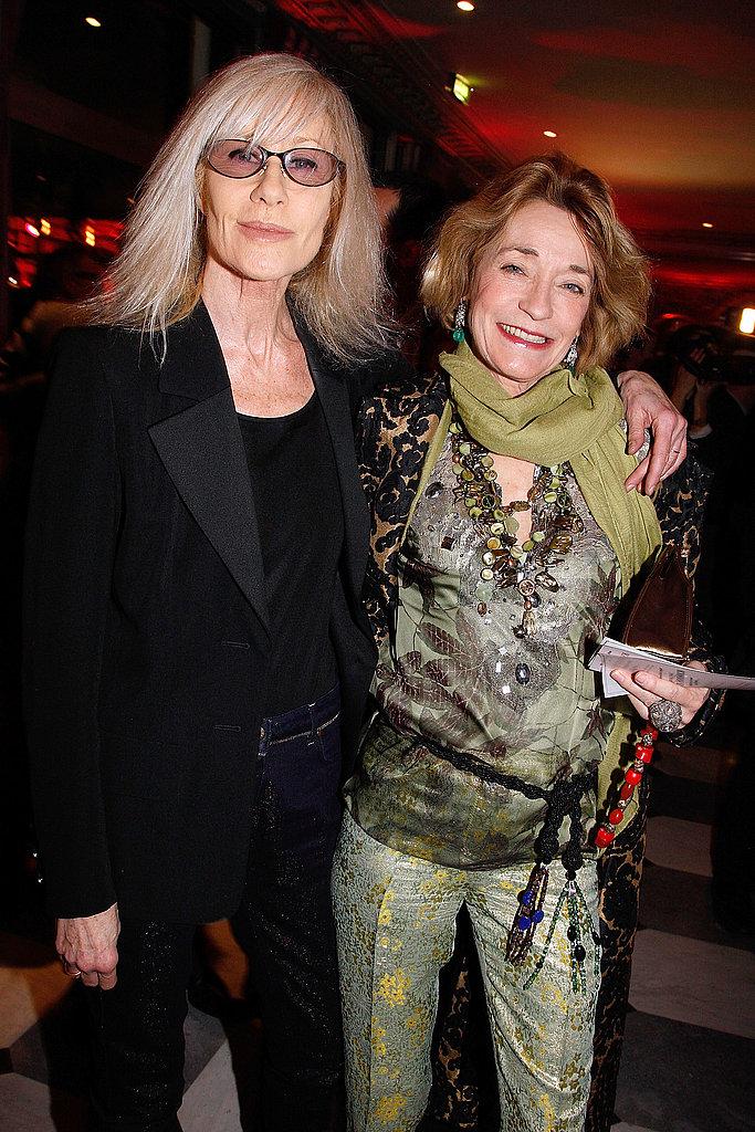 Betty Catroux and Loulou de la Falaise
