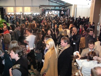 MBFW Lobby At The Tents Before Michael Kors A/W 08 Runway Show