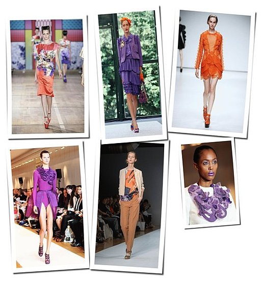 Purple & Orange: The Colors For Spring 09