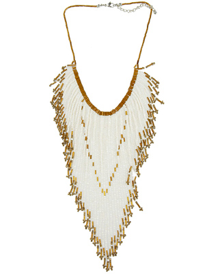 Beaded Necklace $9.80 @ Forever 21