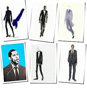 Inauguration Sketches For Barack Obama