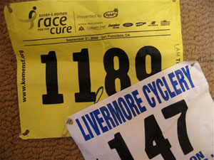 Do You  Save Your Race Numbers?