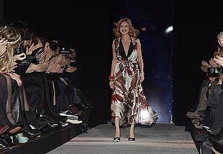Natalia Vodianova Shows Off Her Lingerie Pour Etam
