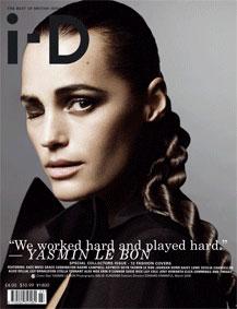 Twelve British Models, Twelve i-D Covers for March 2009