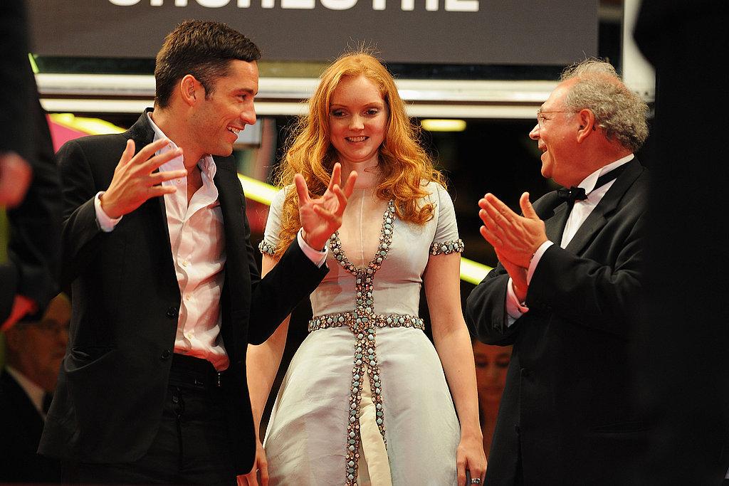 Lily Cole at with boyfriend Enrique Murciano The Imaginarium of Dr. Parnassus premiere