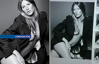 Gisele Bundchen Gets De-Bumped for Fall 2009 London Fog Campaign