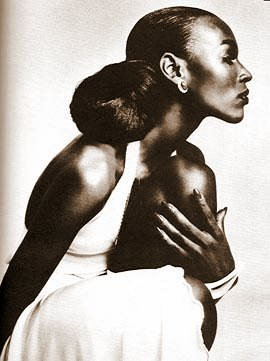 1979: From her book, How to Be a Top Model