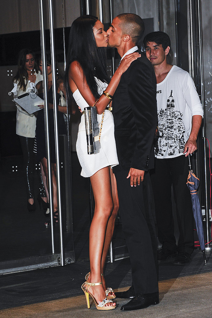 Chanel Iman and Chris Smith