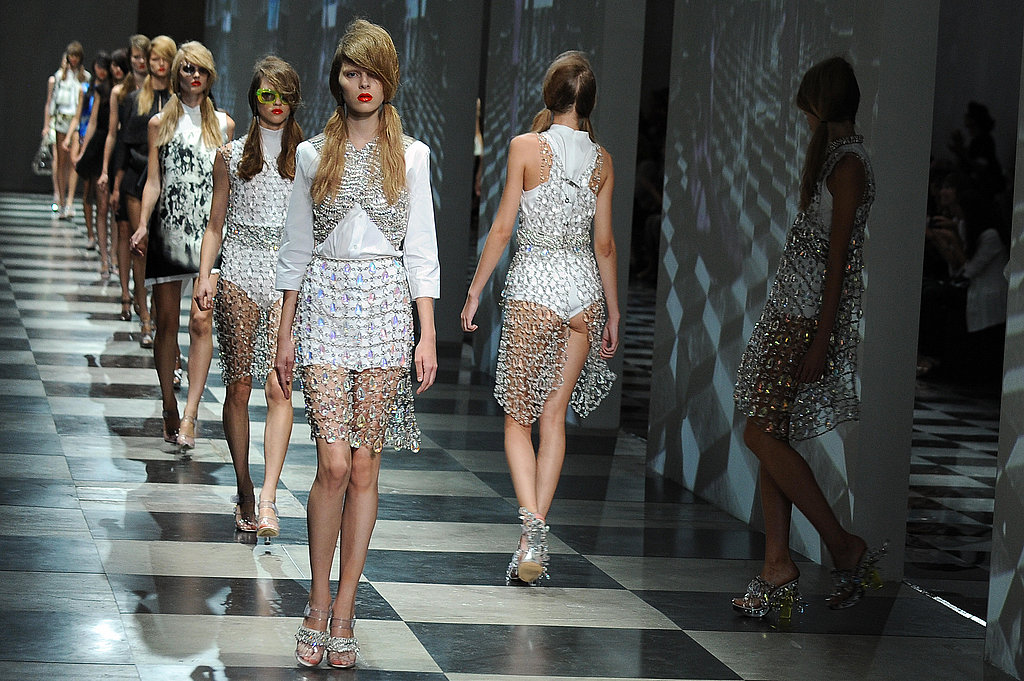 Miuccia Takes Prada to a Crystalline Beach for Spring 2010 ...