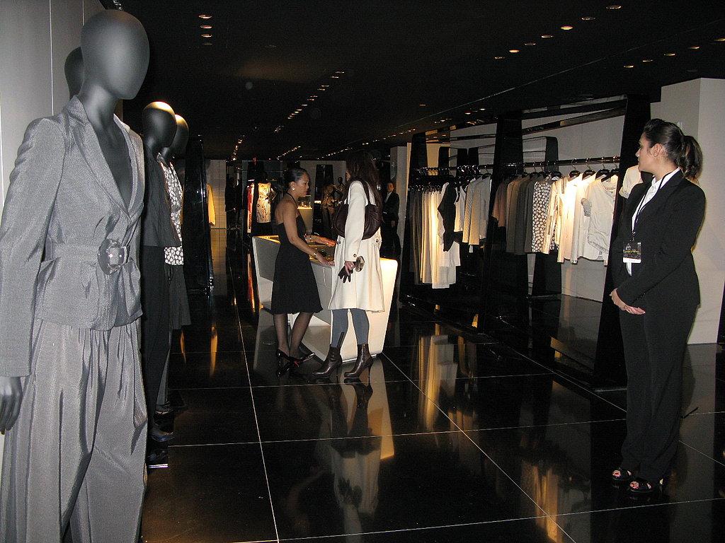 Armani/5th Avenue Store Opening
