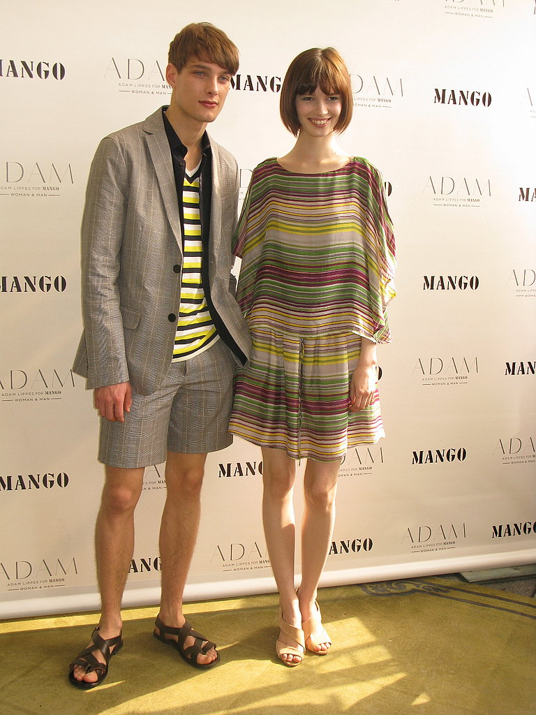 Adam For Mango Presentation & Look Book
