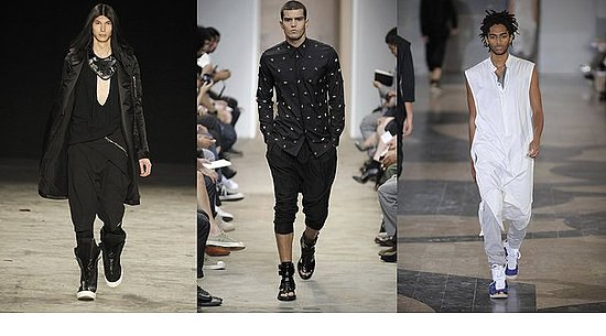 Spring 2010 Trend Report: Menswear Loves Drop-Crotch Trousers