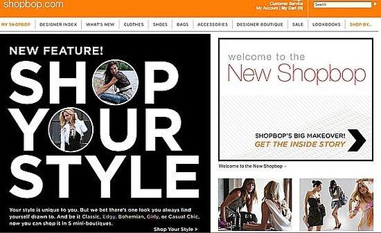 Shopbop Reveals New Fall Facelift