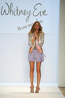 New York Fashion Week: Whitney Eve Spring 2010