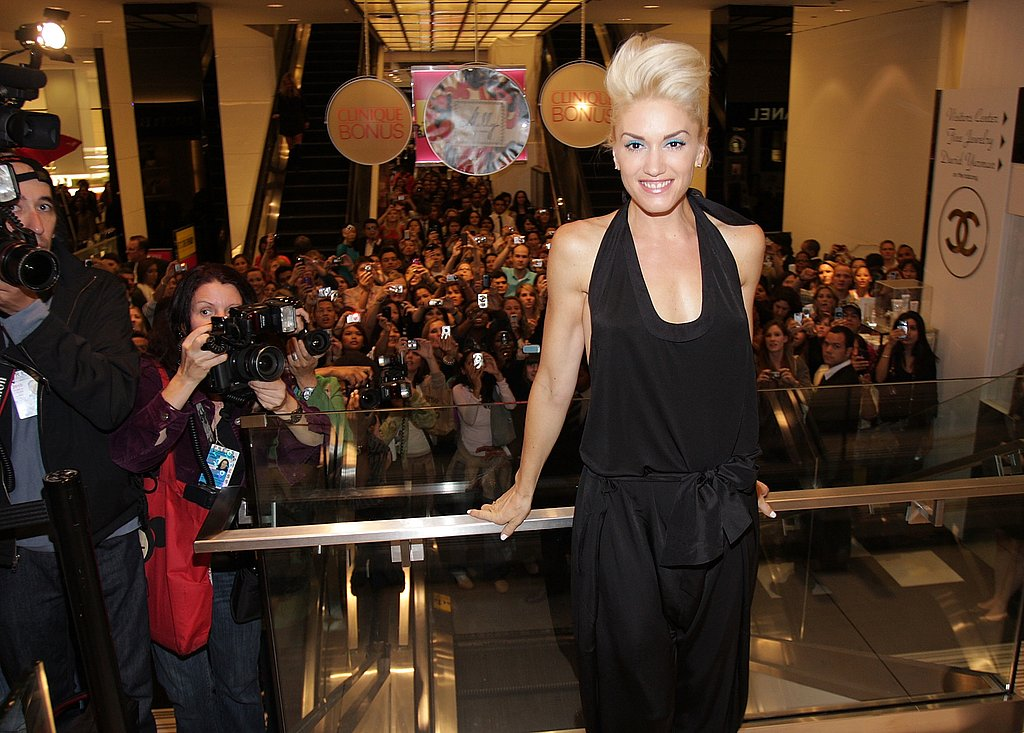 Gwen Stefani at Bloomingdales