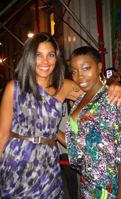 Rachel Roy and Estelle