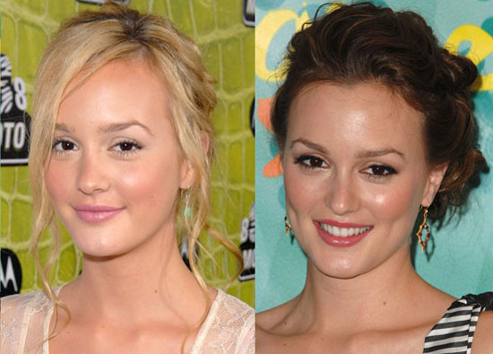Is Leighton Meester better as a blonde or brunette?