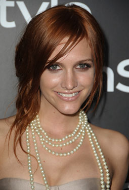 How-To: Ashlee Simpson's Laid-Back Asymmetric Updo