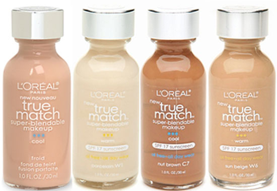 Doing Drugstore: L'Oreal True Match Liquid Makeup