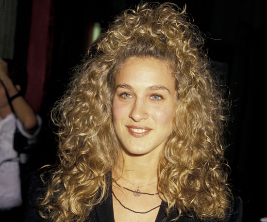 Sarah Jessica Parker big hair 80s