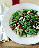 Three-Bean Salad with Honey-Mustard Vinaigrette