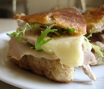Pork Loin Sandwich With Figs and Manchego