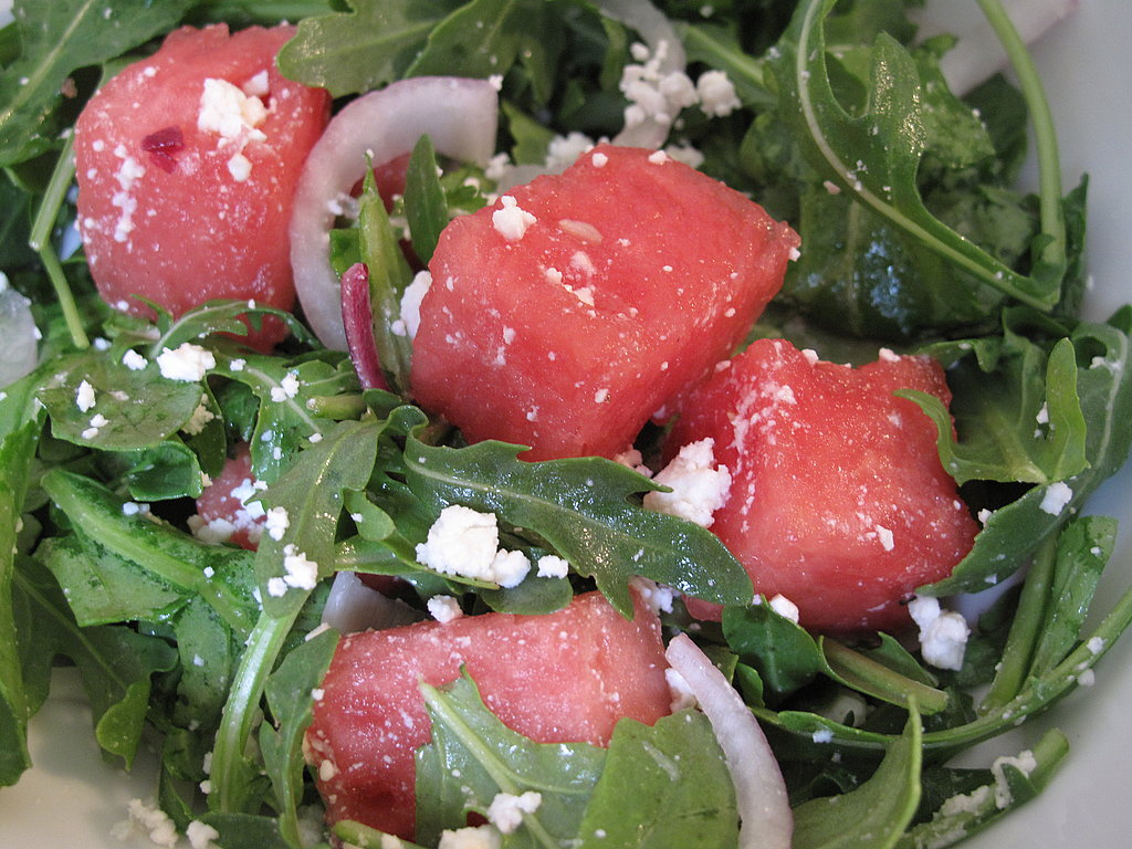 Photos of Watermelon, Feta & Arugula Salad