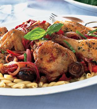 Fast, Easy Recipe For Chicken Cacciatore