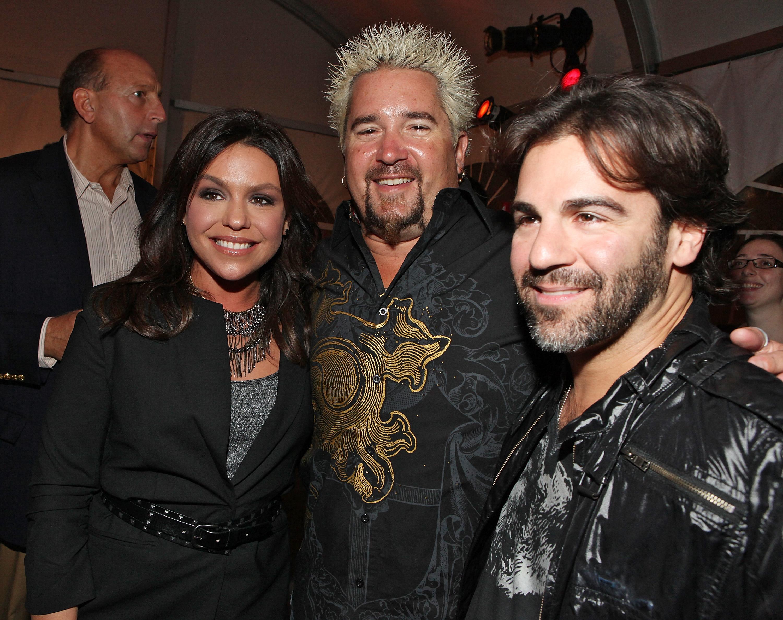 Rachael, Guy, and John
