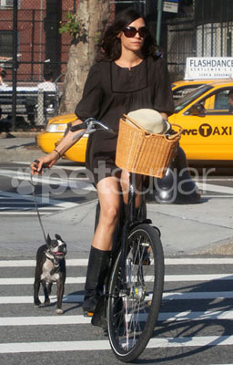 Famke and Licorice's Big Bike Adventure in the Big Apple
