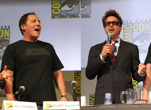2009 Comic-Con: Iron Man 2 Blasts In