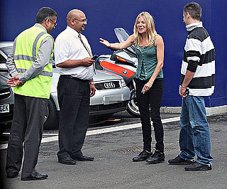 Photo Slide of Sienna Miller After Her Driving Test in London