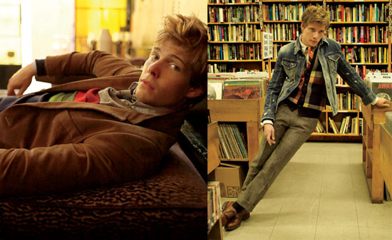 Photos and Quotes from Hunter Parrish in GQ