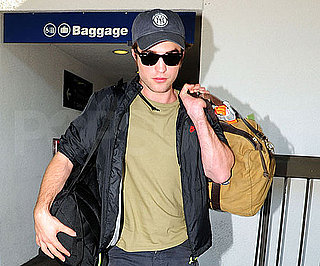 Photo Slide of Robert Pattinson at LAX Ahead of The Teen Choice Awards