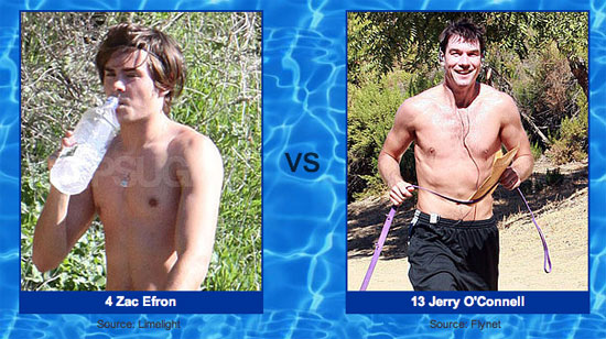 Get Your Shirtless Votes in Before Round One Closes Tomorrow!