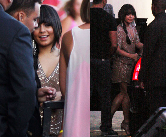 Photos and Video of Vanessa Hudgens at Jimmy Kimmel Show, Nude Photos Leaked Allegedly From First Batch