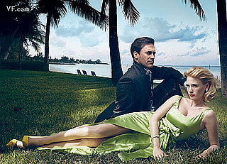 Photos And Quotes From Jon Hamm And January Jones in September's Vanity Fair