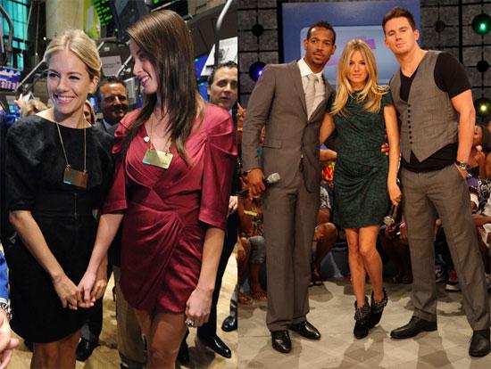Photos of Sienna Miller, Channing Tatum, Marlon Wayans, and Rachel Nichols Promoting GI Joe in NYC
