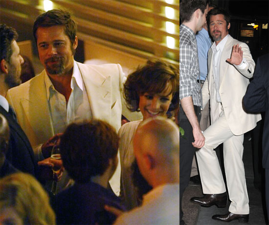Photos of Brad Pitt at The Time Traveler's Wife Afterparty; Video on The Today Show
