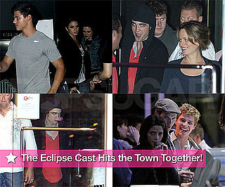 The Eclipse Cast Hits the Town Together!