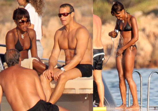 Photos of Bikini-Clad Naomi Campbell on Vacation With Boyfriend Vladislav Doronin