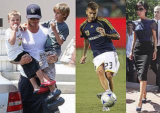Photos of the Beckhams