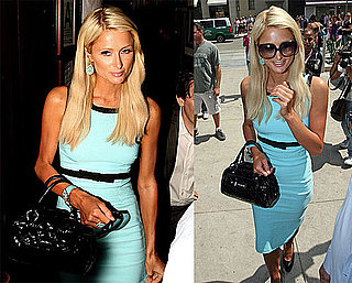 Photos of Paris Hilton Eating Lunch at The Grill in LA, Judge Ruled She Didn't Have to Pay $8 Million for Pledge This! Lawsuit